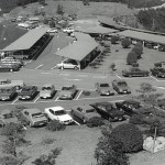 昭和50年頃の駐車場風景